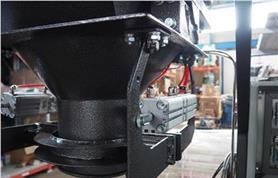 Горловина дозатора ДОН(ОМ) для фасовки сыпучих материалов в открытые мешки