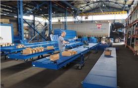 Монтаж автомобильных весов ВАЛ-М (автовесы для небольшого грузопотока до 40 тонн)