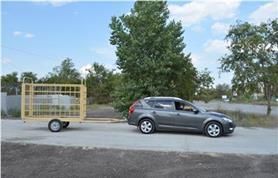 Перевозка легковым автомобилем весов для КРС (Эльтон (СК)-Автоприцеп)