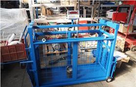 Весы для животных до 300 кг с подвесной клеткой Эльтон (СК)