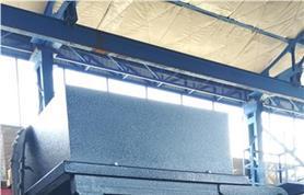 Весовой дозатор ДОН(ОМ)-50 для открытых мешков до 50 кг на установочной раме с бункером