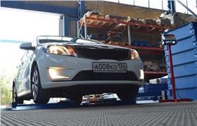 Подкладные весы ИСТОК для определения осевой нагрузки и поосного взвешивания автомобиля