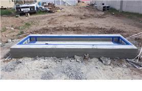 Фундаментный короб осевых весов ИСТОК до 20 тонн