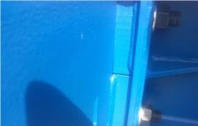 Сварка металлоконструкции в весах автомобильных вал