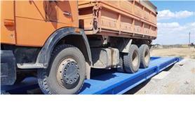 Взвешивание грузового автомобиль на автовесах ВАЛ