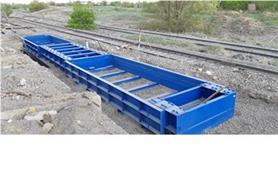 Монтаж весов железнодорожных до 150 тонн (тип БАМ)
