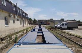 Монтаж автомобильных весов на бетонный фундамент