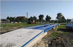 Монтаж автомобильных весов до 80 тонн, платформа 18 метров (ВАЛ 80/40-18)