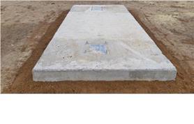 По предоставленному техническому заданию заказчик самостоятельно изготовил опорные тумбы для монтажа автомобильных весов ВАЛ