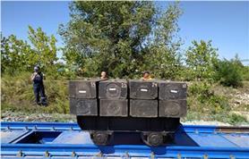 Бесфундаментные вагонные весы БАМ до 150 тонн (установка на щебень)