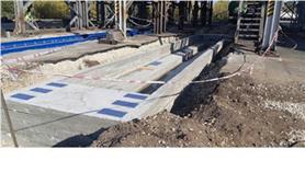 Вагонные весы БАМ-150-14,5 и фундамент под вторые вагонных весы на 14,5 метров (Заказчик СамараАгропромПереработка)