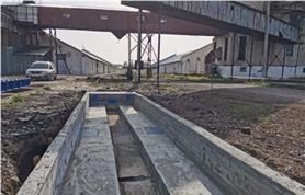 Фундамент вагонных весов БАМ 150-14,5 (до 150 тонн; 14,5 метров)