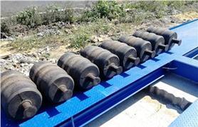 Калибровка гирями 500 кг автомобильных весов ВАЛ