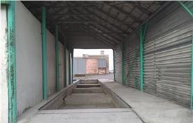 Доработанный фундамент старых механических весов для установки новых электронных с удлинением с 12 до 20 метров