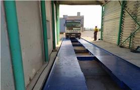 Взвешивание на автомобильных весах до 80 тонн, длинна платформы 20 метров (автовесы типа ВАЛ-М- 80/40-20)