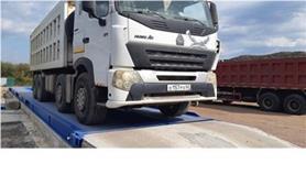 Взвешивание грузовиков HOWO с большими осевыми нагрузками на автовесах ВАЛ