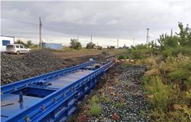 Весы железнодорожные для вагонов БАМ