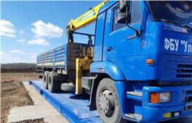 Автомобильные весы ВАЛ (установка бесфундаментным способом на уложенные дорожные плиты)