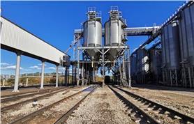 Вагонные весы БАМ на зерноперерабатывающем предприятии