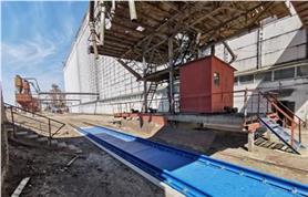 Вагонные весы для взвешивания груженых вагонов общей массой до 150 тонн