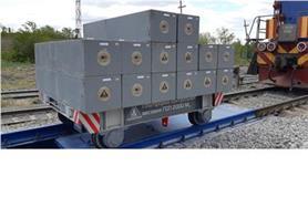 Калибровка и поверка вагонных весов до 150 тонн (БАМ)
