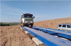 Весы для грузовых автомобилей от 30 до 80 тонн (тип ВАЛ
