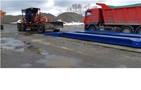 Автомобильные весы 12 метров, до 60 тонн (ВАЛ-60-12) с въездными металлическими пандусами