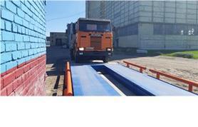 Въезд грузовика на автомобильные весы ВАЛ
