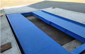Установка автомобильных весов в бетонный приямок
