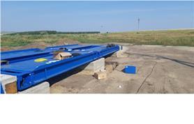 Автомобильные весы ВАЛ-60-12 (грузоподъемность 60 тонн, длинна платформы весов 12 метров)
