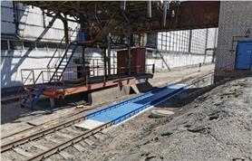 Вагонные весы БАМ-100-14,5 (до 100 тонн, ГПУ 14,5 метров) установлены на объекте заказчика