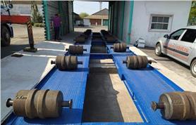 Сдача в поверку автомобильных весов 80 тонн типа ВАЛ-М- 80/40-20