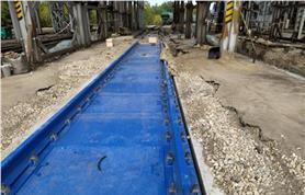 Монтажные работы - установка вагонных весов 16,5 метров