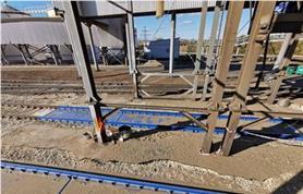 Эксплуатация вагонных весов БАМ. Установлены на участке загрузки вагонов растительным сырьем (Заказчик Самараагропромпереработка)