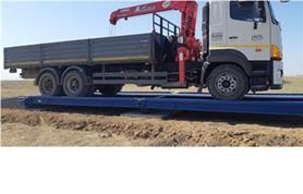 Взвешивание на грузовых автомобильных весах до 80 тонн (автовесы ВАЛ