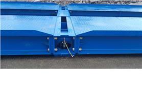Монтаж автомобильных весов ВАЛ на бетонные плиты
