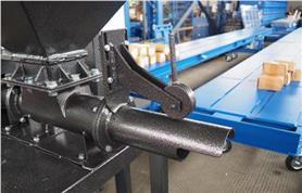 Ручной прижим мешка дозатора клапанных мешков ДОН(КМ)