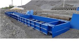 Основание вагонных весов для установки бесфундаментным способом на щебневое основание