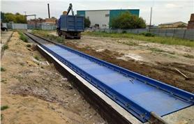 Вагонные весы БАМ-100-14,5 (до 100 тонн, платформа 14,5 метров (Заказчик ПО Втормет)