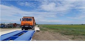 Эксплуатация автомобильных весов ВАЛ 80-18 (до 80 тонн, ГПУ 18 метров)