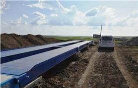 Весы автомобильные до 80 тонн, платформа 18 метров на стационарном бетонном фундаменте (ВАЛ-80-18)