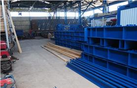 Вагонные весы БАМ на складе готовой продукции