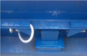 Установка нового отбойного узла при модернизации механических вагонных весов