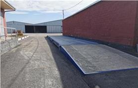 Автомобильные весы ВАЛ-80-18 на бетонном фундаменте