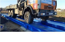 Настройка и пусконаладка 60-и тонных автомобильных весов ВАЛ