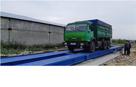 Взвешивание автомобиля КАМАЗ на автовесах ВАЛ-80-18 (до 80 тонн, 18 метров)