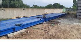 Пусконаладка автомобильных весов до 80 тонн с 24 метровой платформой (ВАЛ-80-24)