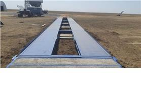 Автомобильные весы 80 тонн установлены в КФХ Ткачева (тип ВАЛ-М- 80/40-24)
