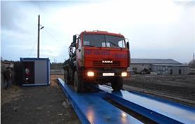 Весы автомобильные 80 тонн + модуль весовщика