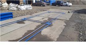 Установка автомобильных весов на дорожные плиты (ВАЛ